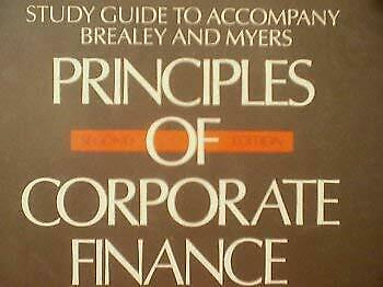 £3.36 • Buy Principles Of Corporate Finance: Study Guide To Accompany Brealey And Myers