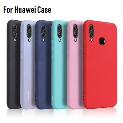 AU4.74 • Buy For Huawei Y9 Y7 Y6 2019 Y5 2019 Shockproof Soft Silicone TPU Case Slim Cover