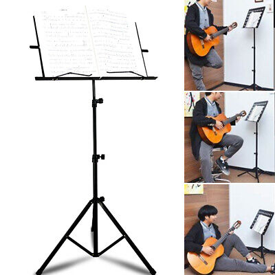 Modren Heavy Duty Foldable Music Stand Holder Base Tripod Orchestral Conductor • 11.99£