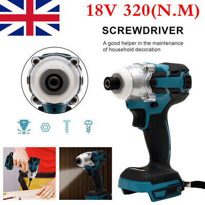 Replacement For Makita DTW285Z 18V LXT Brushless 1/2in Impact Wrench *Body Only* • 49.79£