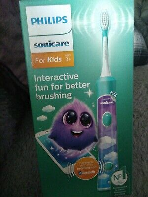 View Details PHILIPS  Sonicare Fo Kids Rechargeable Sonic Electric Toothbrush Interactive New • 34.00£
