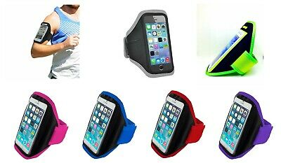 Gym Running Jogging Arm Band Sports Armband Case Holder Strap For Samsung Galaxy • 4.10£