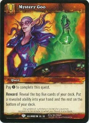 AU4.75 • Buy 8x Mystery Goo - Alliance DK 32/32 - Common NM WoW World Of Warcraft