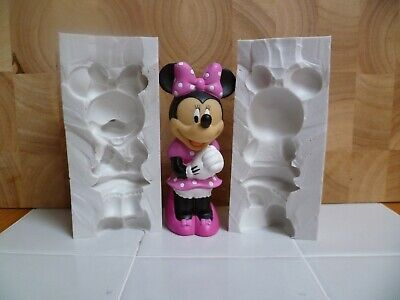 4  Minnie Mouse 3d Silicone Mould For Cake Toppers, Chocolate, Clay Etc • 39.99£