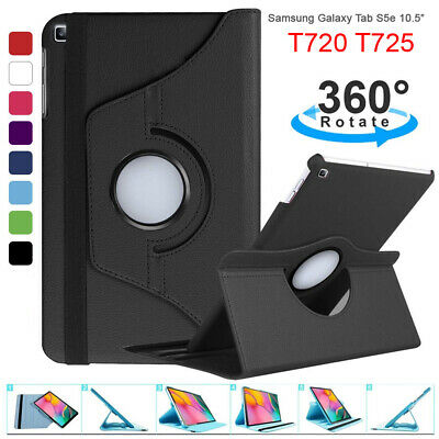 AU11.99 • Buy 360 Rotate PU Leather Case Cover For Samsung Galaxy Tab S5e 10.5  2019 T720 T725
