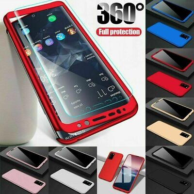 Case For Samsung Galaxy S20 S10 S9 Plus Cover 360 Luxury Thin Shockproof Hybrid • 1.95£