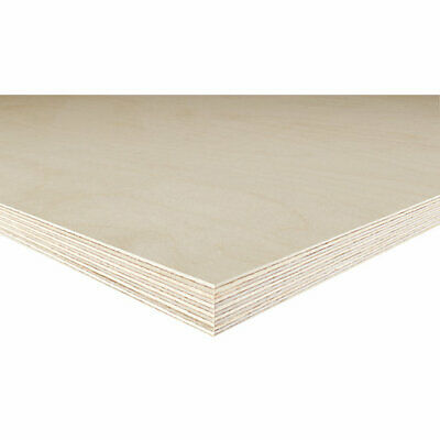 Birch Plywood 12mm / 18mm Birch Faced Ply BB Grade 1'X1' To 8'x4' Sheet Sizes • 20£
