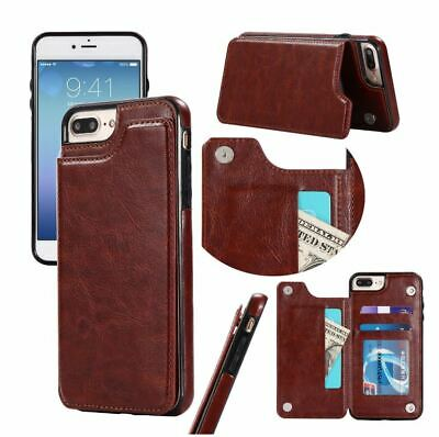 AU16.90 • Buy Wallet Case Leather Card Holder Cover For Apple IPhone 11 Pro Max XR XS X 8 7 6