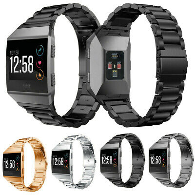 $ CDN9.20 • Buy Replacement Stainless Steel Watch Bands For Fitbit Ionic Tracker Loop Strap USA