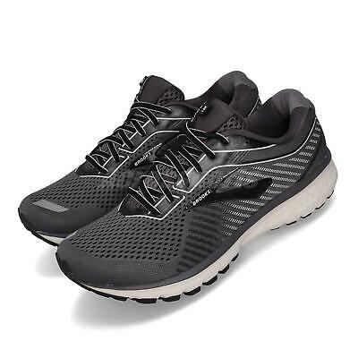 AU196.02 • Buy Brooks Ghost 12 2E Wide Black Grey White Men Running Shoes Sneakers 110316 2E