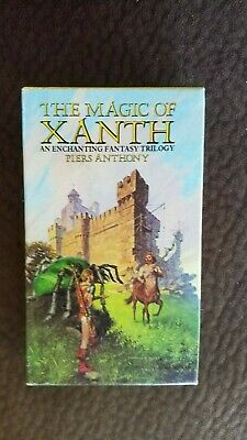 The Magic Of Xanth Box Set By Piers Anthony (Castle Roogna, Source Of Magic) • 19.99$