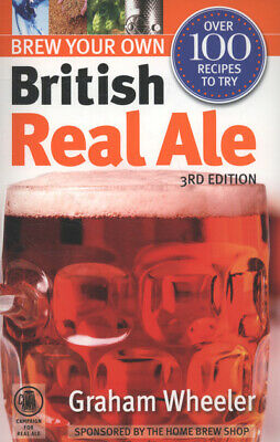 £9.48 • Buy Brew Your Own British Real Ale By Graham Wheeler (Paperback) Fast And FREE P & P