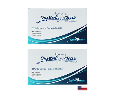 $ CDN39.66 • Buy Hismile Comparable Teeth Whitening Gel By Crystal Clear Teeth Whitening(10 Pack)