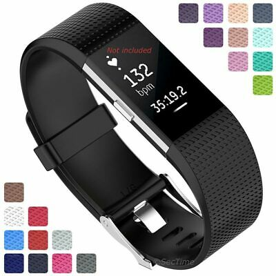 $ CDN6.97 • Buy For Fitbit Charge 2 Replacement Silicone Watch Strap Band Men's Women's