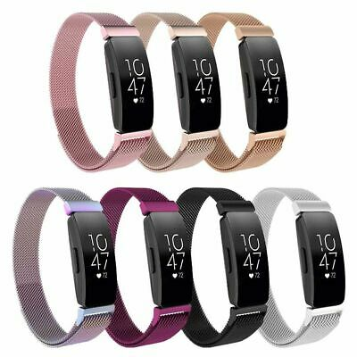 AU13.99 • Buy For Fitbit Inspire HR Stainless Steel Milanese Replacement Wrist Band 3A