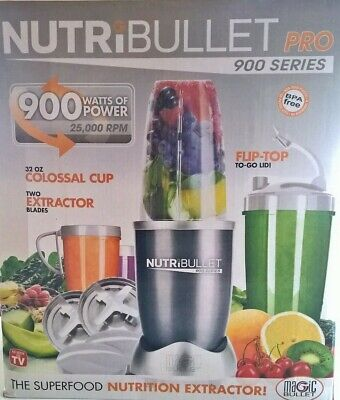 AU82.99 • Buy NutriBullet 900W Pro Juicer Mixer Extractor Bullet Blender Melbourne