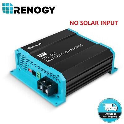 AU149.99 • Buy Renogy 20Amp 12V DC To DC Battery Charger Marine RV Van Dual Battery Maintainer