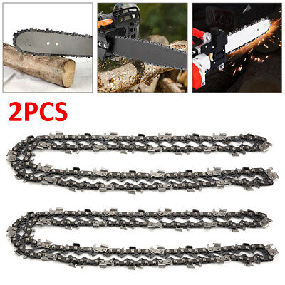 2Pcs 20inch 76 Drive Links Chainsaw Saw Chain Parts Tool  Chainsaw Blade New • 9.99£