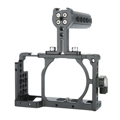 $ CDN58.26 • Buy NICEYRIG Camera Cage Top Cheese Handle For Sony A6300 A6400 W/ HDMI Cable Clamp