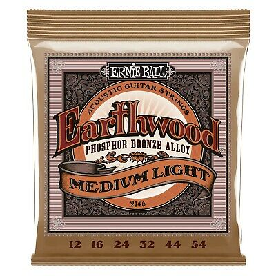 AU14 • Buy Ernie Ball 2146 Acoustic Guitar Strings Medium/Light 12-54  - New
