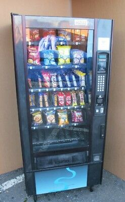 £700 • Buy Narrow 740MM Deep Polyvend 32 Selection Snack Vending Machine Includes Coin Mech
