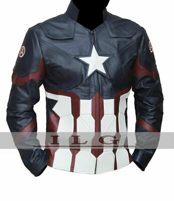 f47c61516 captain america leather jacket