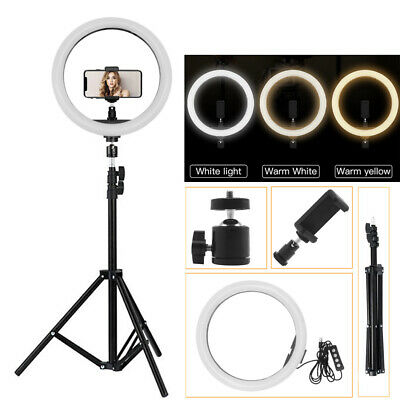 12inch Outer Dimmable LED Video Photo Ring Light Lighting Kit + 2M Light Stand • 27.10£
