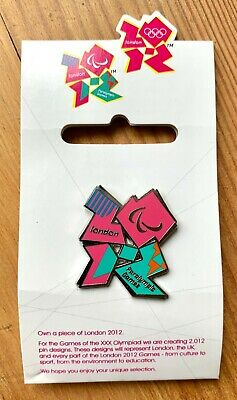 £2.50 • Buy London 2012 Olympic Games - Paralympic Games Badge - Official Product - Mint