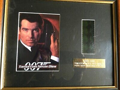 James Bond 007 Film Cell With Certificate Of Authenticity, Limited Edition • 12.99£