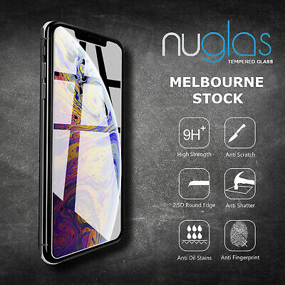 AU6.95 • Buy For Apple IPhone XR X Xs Max Xs NUGLAS 9H Tempered Glass Screen Protector Cover