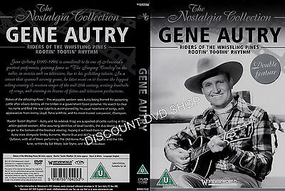 Gene Autry - Riders Of The Whistling Pines (DVD, 2008) NEW ITEM • 4.75£
