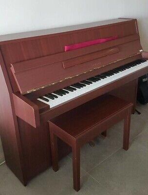 AU2500 • Buy Yamaha Upright Piano With Stool - In Excellent Condition - Been Maintained