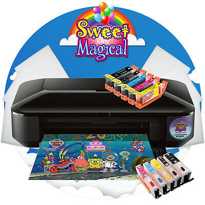 £321.98 • Buy CANON WIDE FORMAT XL EDIBLE PRINTER,INK,CLEANER & EDIBLE PAPER[Uses 250/251 INK]