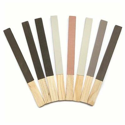 £6.75 • Buy 8 Emery Polishing Paper Stick Grade 1/0,2/0,3/0,4/0,1,2,3,4 Cleaning Tools