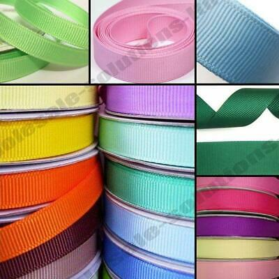 50m Quality Reels Grosgrain Ribbon Roll 50 Metres Indoor Craft Easter Wrap  • 4.95£