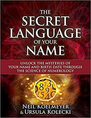£13.24 • Buy Secret Language Of Your Name Unlock The Mysteries Of Your Name Birthday
