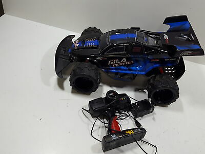 $45.56 • Buy New Bright Gila Monster Rc Pro Blue Remote Radio Controlled Car 4 Channel Rh3as