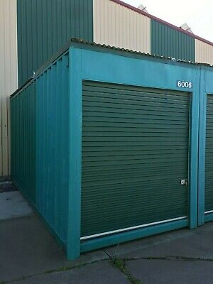 AU5999 • Buy USED 6m Long / 2.44m Wide 2.9m High Shipping Container / Portable Storage Shed