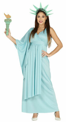 £22.99 • Buy USA Statue Of Liberty Ladies Fancy Dress American Novelty Womens Costume Outfit