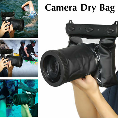 20m Underwater Housing Case Dry Bag Pouch Accessory For Canon SLR DSLR Camera F3 • 19.75£