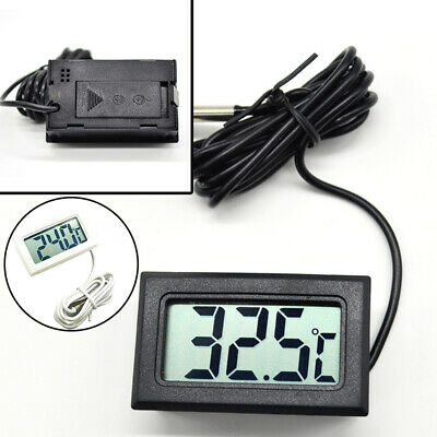 £2.99 • Buy Thermometer Temperature Tester Mod Waterproof 1x Digital Probe Lcd With Indoor