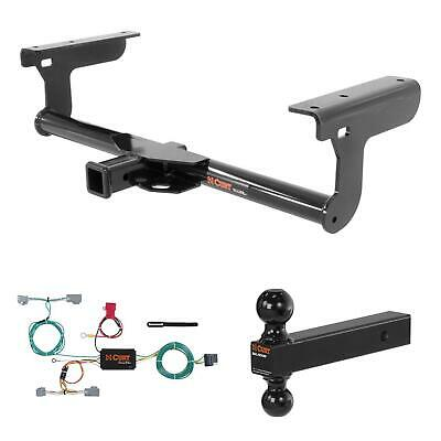 curt trailer hitch, wiring & multi-ball ball mount for 2016 volvo xc90 •