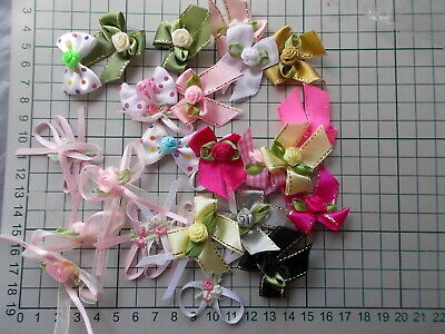£3.50 • Buy Assorted Bows - Rose Buds- Flowers