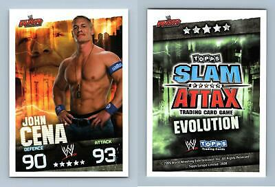 John Cena - WWE Slam Attax Evolution 2009 Topps TCG Card • 0.99£