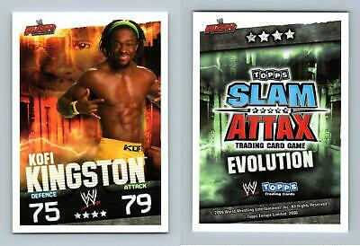 Kofi Kingston - WWE Slam Attax Evolution 2009 Topps TCG Card • 0.99£
