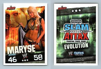 Maryse - WWE Slam Attax Evolution 2009 Topps TCG Card • 0.99£