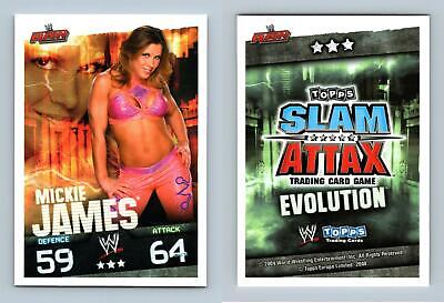 Mickie James - WWE Slam Attax Evolution 2009 Topps TCG Card • 0.99£