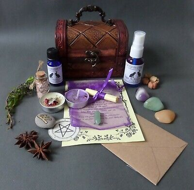Premium Pendant Kit Chest - Choose From List - Witch Pagan Wicca Witchcraft • 37.99£