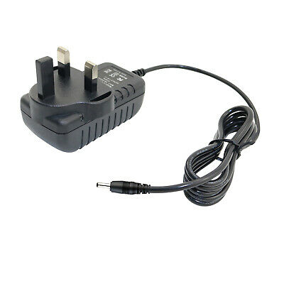 £4.18 • Buy UK AC/DC Adaptor Power Supply Charger For Hannspree Hannspad HSG1279 10.1 Tablet