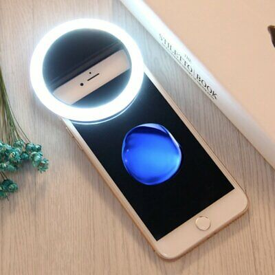 Selfie Portable LED Fill Ring Light Camera Flash Photography For IPhone Android  • 7.14£